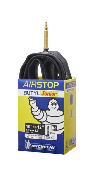 Michelin K4 Airstop Dętka rowerowa 12 calowe Prestaventil czarny